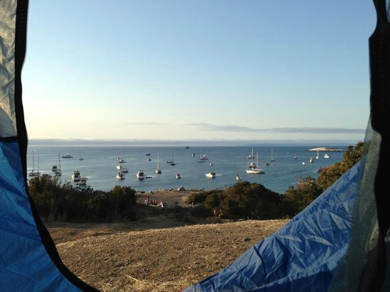 Two Harbors Campground : View from campsite 11