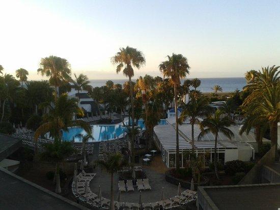 ClubHotel Riu Paraiso Lanzarote Resort : widok z pokoju