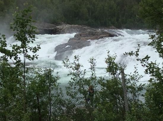 Malselv Municipality, Noruega: målselvfossen