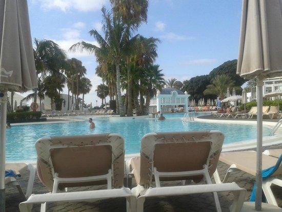 ClubHotel Riu Paraiso Lanzarote Resort : basen