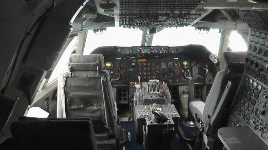 Musée de l'Air et de l'Espace : cockpit