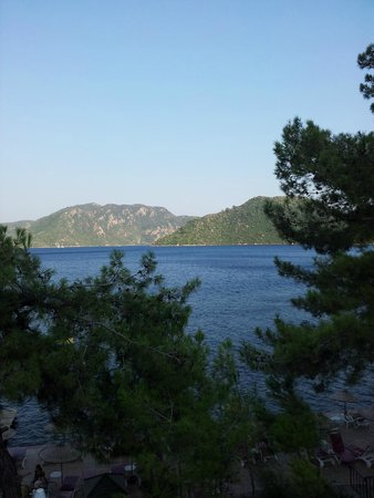 Marmaris Park Hotel : view from pool