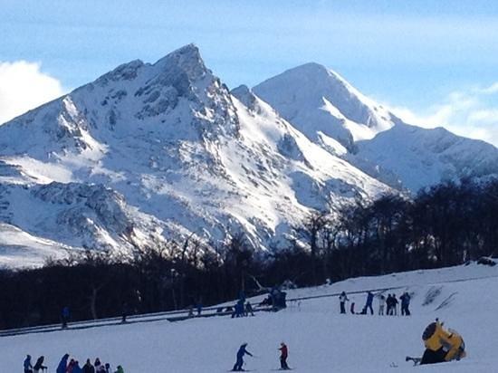 Cerro Castor (Castor Mount) : no alto da montanha