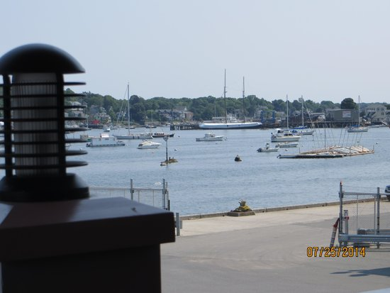 Seaport Grille: The view