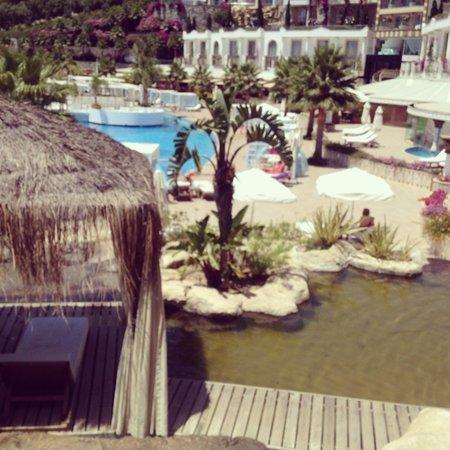 Sianji Wellbeing Resort : En Bord de piscine