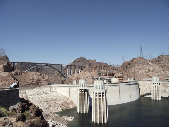 Hoover Dam: Dam and Lake Mead