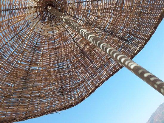 Marmaris Park Hotel: the umbrella