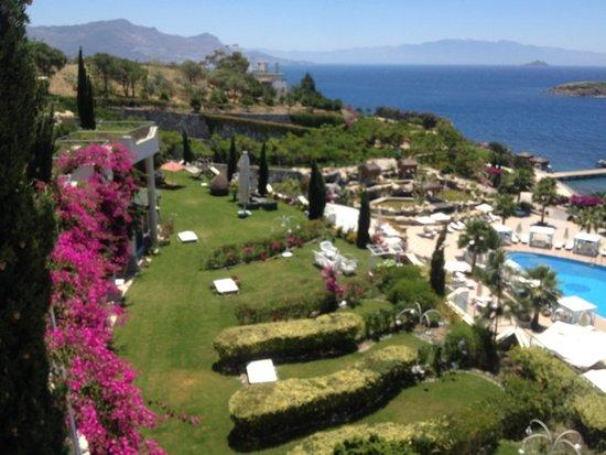 Sianji Wellbeing Resort : Vue magnifique
