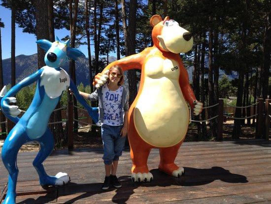 Naturlandia's mascots