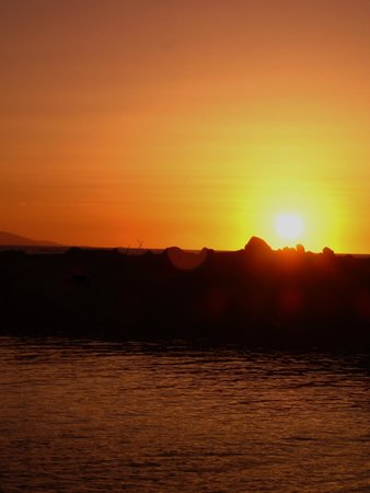 The Island Hotel : Sunset in Gouves
