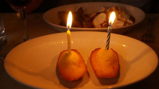 Le Chardenoux : madeleines et bougies