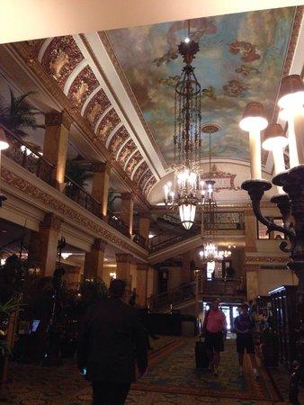 The Pfister Hotel: Main hall