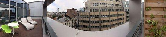Thon Hotel EU: Terrasse