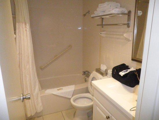 Quality Hotel Fallsview Cascade : Clean Bathroom
