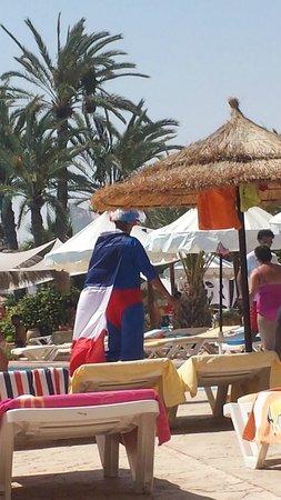 Vincci Resort Djerba: animateur