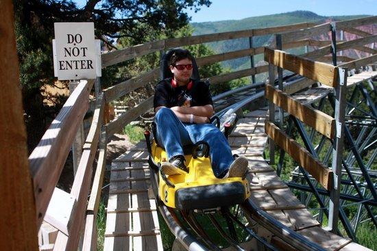 Glenwood Caverns Adventure Park : alpine slide