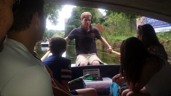 Canterbury Historic River Tours: captain Henry halsall