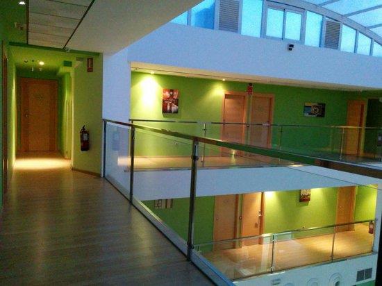 Hotel Ciudad de Corella : Pasillo segunda planta