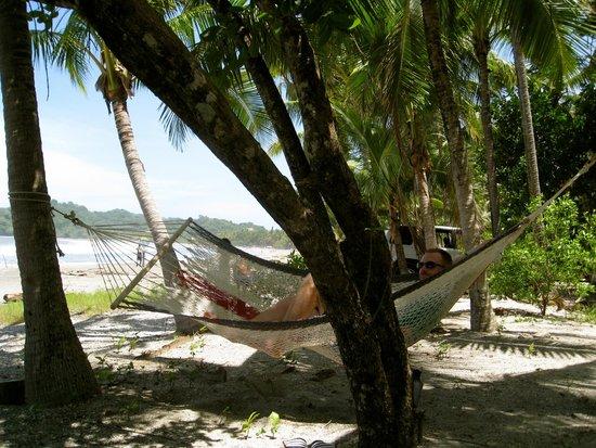 Casitas LazDivaz: Hammock on the Beach