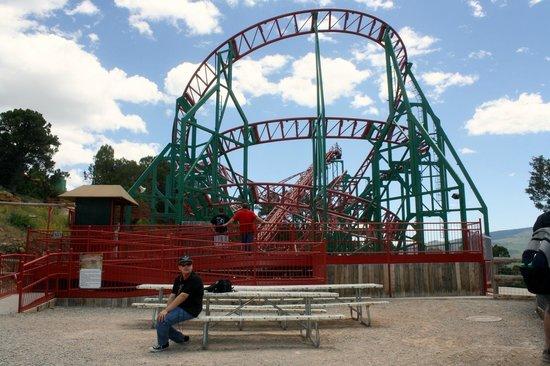 Glenwood Caverns Adventure Park : roller coaster