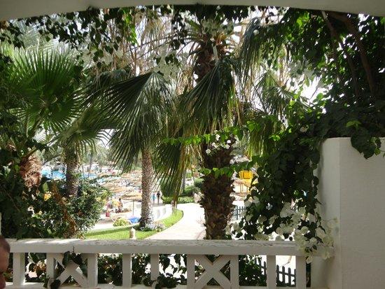 Vincci Resort Djerba: vue balcon
