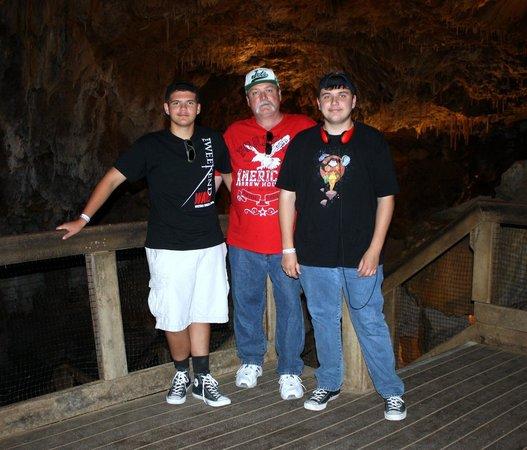 Glenwood Caverns Adventure Park: cave tour