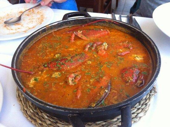 Restaurante Cal Sisquet: Arroz caldoso de bogavante