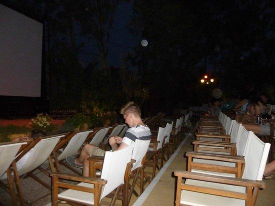 Aegean Plaza Hotel: Open air cinema