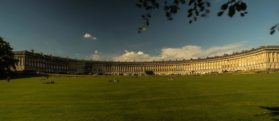 The Royal Crescent Hotel & Spa : The magnificent Royal Cresent
