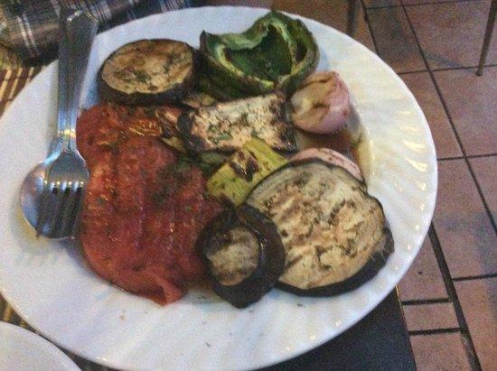 Smile Cafe Restaurant: Les légumes grillés - Smile