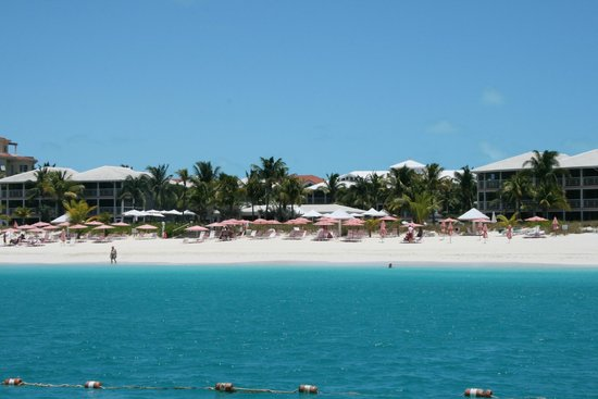 Ocean Club West: View from Island Vibe boat