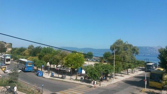 Konstantinoupolis Hotel: vista dalla camera