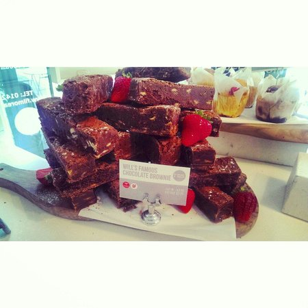 Filmore & Union Harrogate: The best brownies you will EVER taste !!