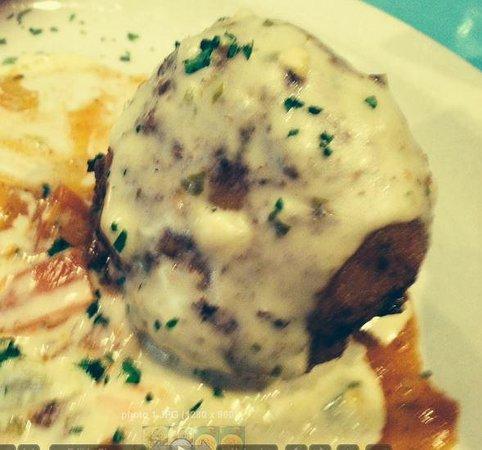 Bayou Jacks Cajun Grill: Dirty Balls appetizer