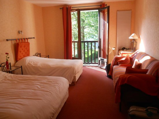 Hotel des Chazes : interno di una stanza