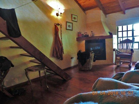 Hacienda La Alegria : our room