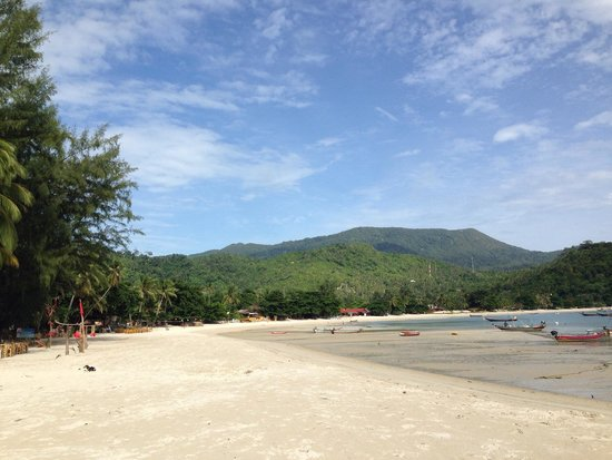 Thong Nai Pan Yai Beach: Pretty beach