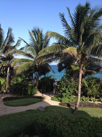 Occidental at  Xcaret Destination: View from Royal Club room