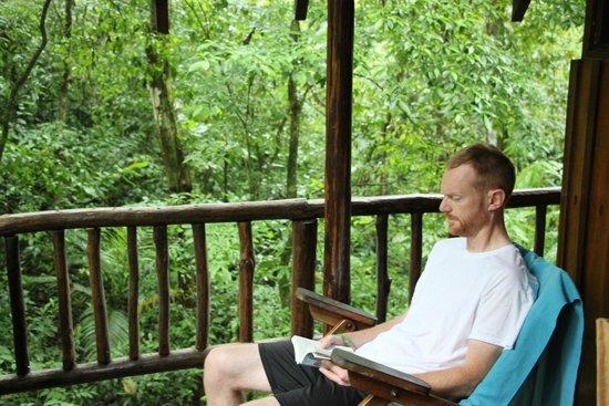 Tree Houses Hotel Costa Rica : Porch
