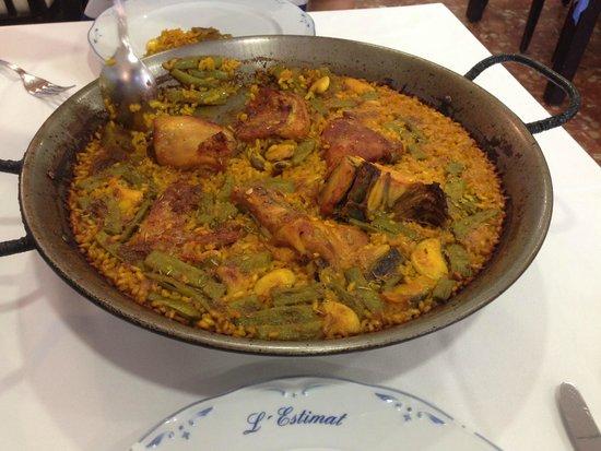 L'Estimat: The untouched dish for 2 - delicious