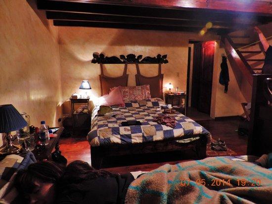 Hacienda La Alegria: Our room