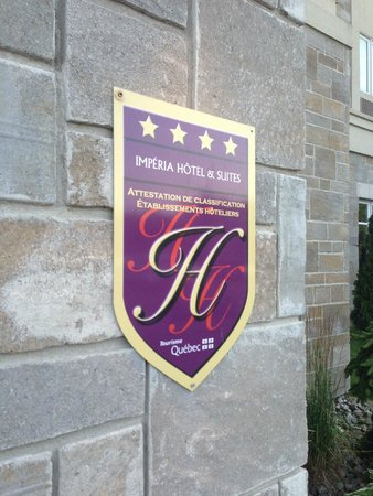 Impéria Hôtel & Suites : Hotel Rating