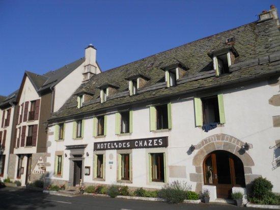 Hotel des Chazes : L'edificio dell'hotel