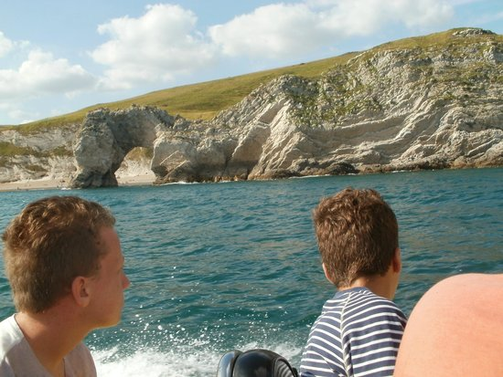 Lulworth & Weymouth RIB Rides: Durdle Door