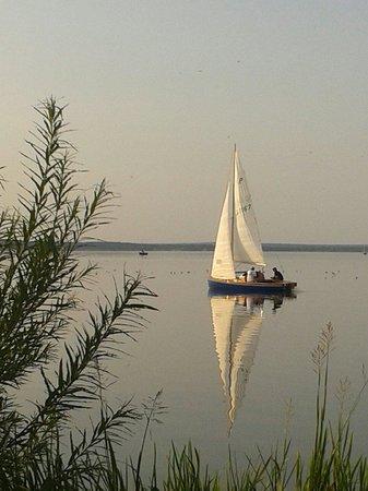 Hafenblick: Traumhafter Abend am Steinhuder Meer