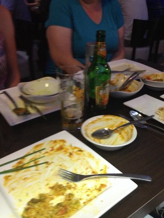 Zeera: Another great meal empty plates as always��