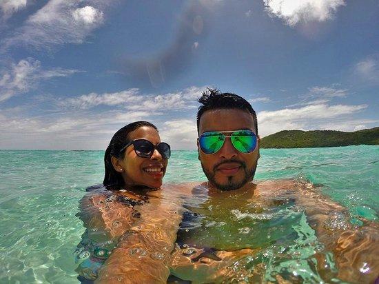 Flamenco Beach: Pool Beach!! water so clean and clear
