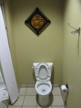 La Hacienda Inn Alamodome/Riverwalk: Toilette