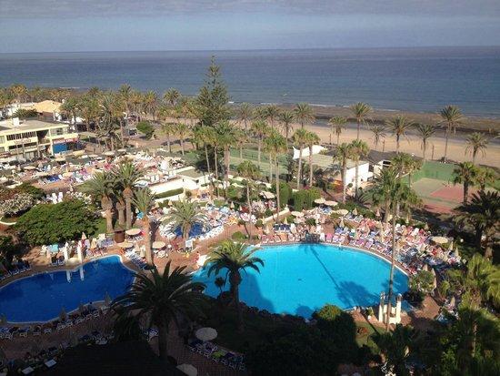 H10 Las Palmeras: View from 6th floor