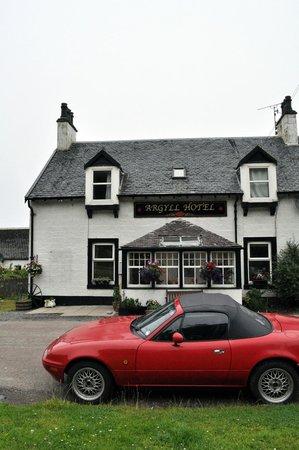 Argyll Hotel: The hotel